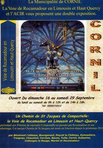 affiche expo Cornil W