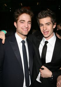 Andrew Garfield & Robert Pattinson - After Party Golden Glo