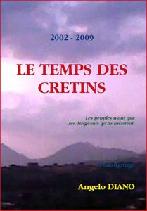 PHOTO TEMPS DES CRETINS 1ERE COUV 21 10 09
