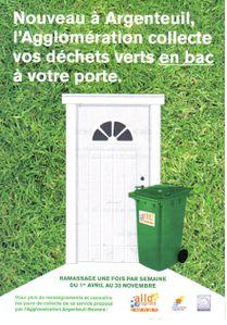 Poubelles déchets verts