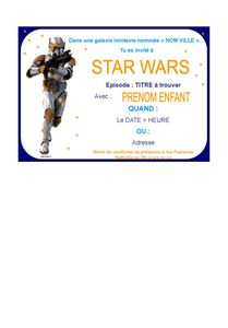 texte carte anniversaire star wars cartes lisaoycwilson site. Black Bedroom Furniture Sets. Home Design Ideas