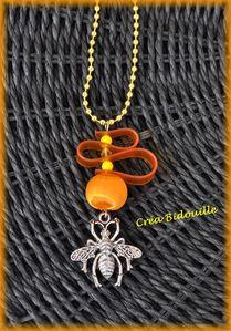 Collier abeille