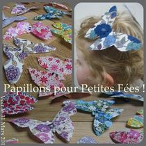 barrette papillon faire
