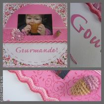 SCRAP PAGE GIRLY