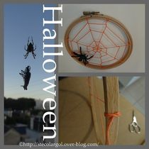 LABtuto HALLOWEEN DIY SPIDER WEB