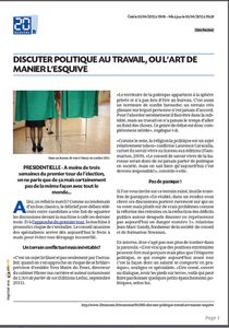 Article 20 minutes 5 avril 2012