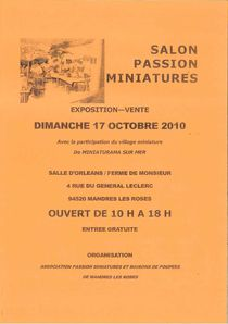 Passion Miniatures 2010
