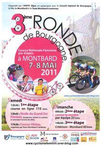 affiche ronde de bourgogne 2011