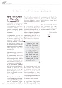 idefisc 68 - juin 2009 - taxe communale additionnelle inopp