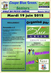 Coupe Blue Green Séniors