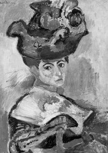 Femme au Chapeau-1905-NB