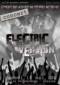 affiche Electric Version