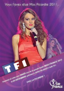 Miss Picardie 2011 affiche