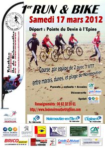 run and bike affiche
