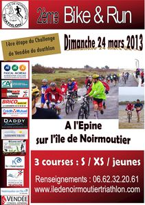 Affiche run and bike 24 mars 2013