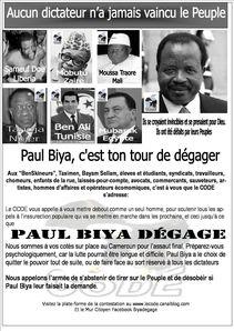 Biya degage tract No 01
