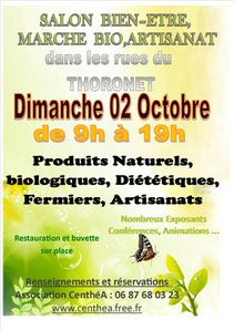 affiche salon Le Thoronet oct