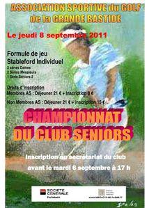2011 Championnat du Club Séniors