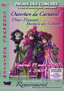 15 ième Carnaval Venitien de Remiremont