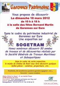 Affiche Expo SOGETRAM