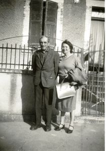 Oncle Pierre et Tante Hermance 30.09.1962