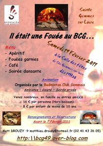 Affiche Soirée 2011