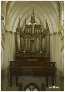orgue de l'église Saint Jacques