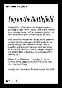 Couverture Black Fog on the battlefield