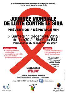 2012 Affiche Journée SIDA