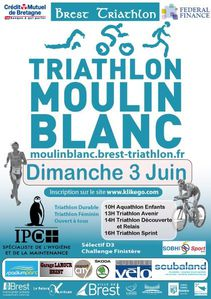 Triathlon Moulin Blanc 2012