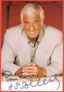 Autographe Belmondo