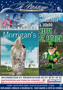 Flyer Happy St Patrick