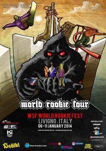 WSF World Rookie Fest a Livigno. Un evento snowboard per la ricerca di nuovi talenti