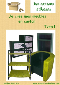 je cr e mes meubles en carton par h l ne fleury la vitrine de l 39 auto dition. Black Bedroom Furniture Sets. Home Design Ideas