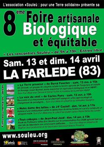 00- Affiche foire bio Souleu