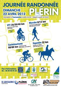 Affiche rando Plérin 2012