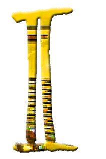 Lettrine (I taxi jaune) Le carnet de Jimidi