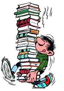 livres et lagaffe