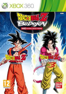 DBZ Budokai HD Collection jaquette Xbox 360