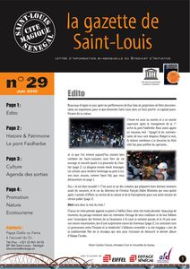 La Gazette de Saint Louis 29