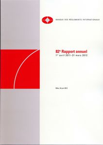 BIS BRI 82e Rapport annuel 2011 2012