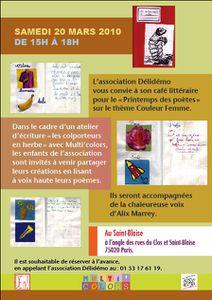 Affiche Sygne Claverie