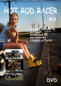Jaquette mag Hot Rod Racer #3
