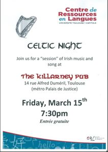 Celtic night march