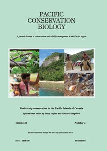Pacific Conservation Biology 20(2) cover