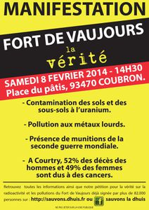 Fort-Vaujours-Affiche-manif 08.02.2014