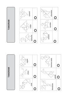 feuille de route tangram