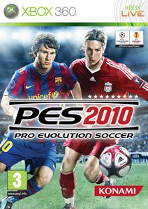 PES2010 X360 jaquette