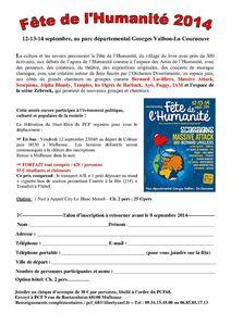 Bulletin d'inscription bus 2014
