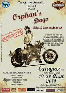 affiche orphan's days 2014